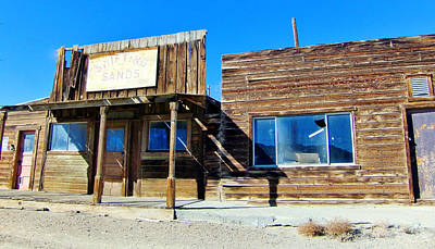 Photograph - Silver Peak Storefronts by Marilyn Diaz