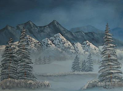Painting - Silver Pine Valley by Peter Kallai