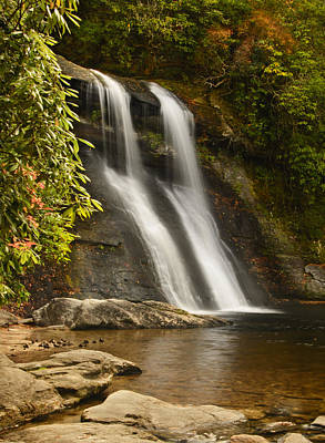 Photograph - Silver Run Falls by Penny Lisowski