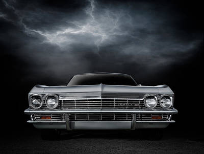 Chevy Ss Wall Art - Digital Art - Silver Sixty Five by Douglas Pittman