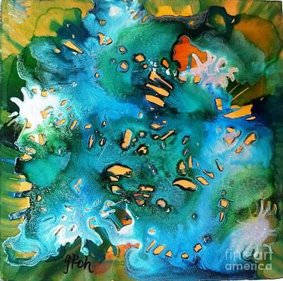 Painting - Silver Splendor by Yolanda Koh