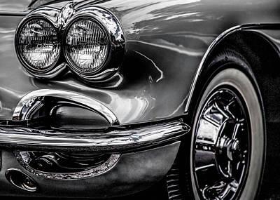 Photograph - Silver Terror by Karen Saunders