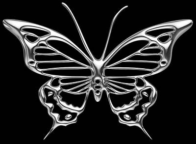 Photograph - Silver Wings by Charlie Brock