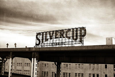 Photograph - Silvercup Studios by Dave Beckerman