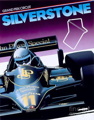 80s Cars Digital Art - Silverstone by Gavin Macloud