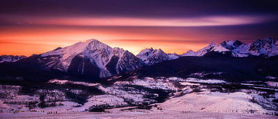 Mountain Royalty-Free and Rights-Managed Images - Silverthorne Nights by Darren  White