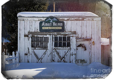 Almost Home Photograph - Silverton Colorado Bed And Breakfast by Janice Rae Pariza