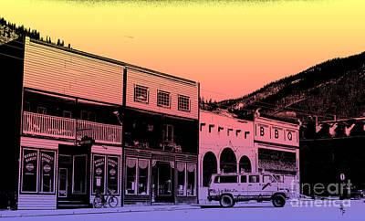 Silverton Colorado Art Print by Janice Rae Pariza