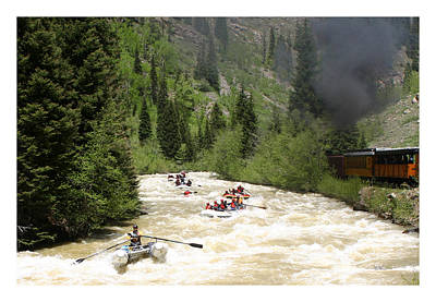 Silverton Durango Steam Train Art Print
