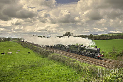 7 Train Photograph - Silverton Steam  by Rob Hawkins