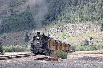 Photograph - Silverton Train by Dorothy Cunningham