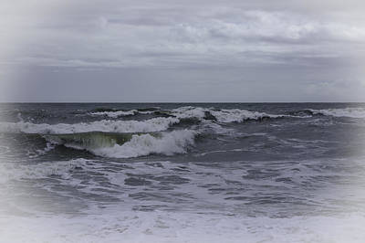 Photograph - Silvery Surf by Judy Hall-Folde