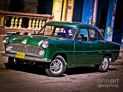 Photograph - Simca Vedette 1957 At La Habana - Cuba by Carlos Alkmin