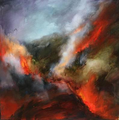 Painting - Simmering Vista's by Lissa Bockrath