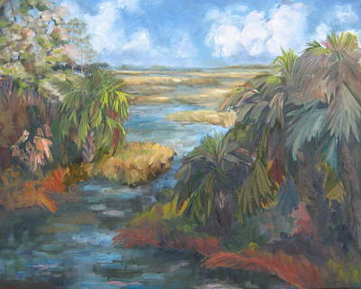 Simmons Bayou Art Print by Susan Richardson