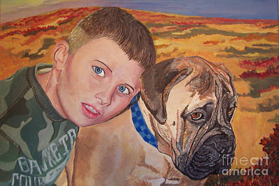 Painting - Simon With Bronx by Stella Sherman