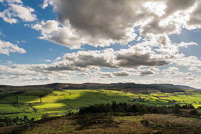 Landscapes Royalty-Free and Rights-Managed Images - Simonside Hills from Rothbury Terraces by David Head