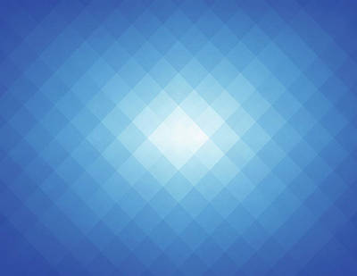 Digital Art - Simple Blue Pixels Background by Simon2579