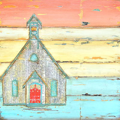 Inspirational Mixed Media - Simple Faith by Danny Phillips