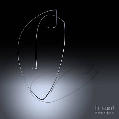 Digital Art - Simple Illuminated by Paul Davenport