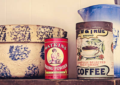 Mixing Bowls Photograph - Simple Kitchen by Heather Applegate
