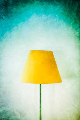 Photograph - Simple Lamp by YoPedro