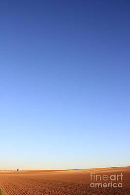 Big Skies Painting - Simple Landscape #1 by Pixel Chimp