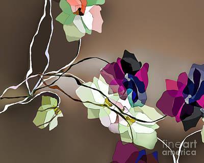 Digital Art - Simple Lines by Ursula Freer