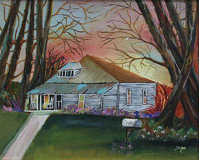 Painting - Simple Living by Dina Jacobs