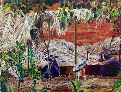 Painting - Simple Pleasures by Aditi Bhatt