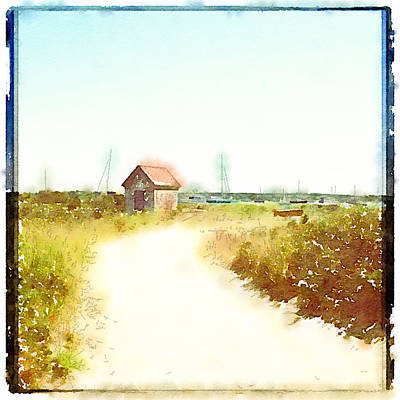 Brant Point Painting - Simple Pleasures by Natasha Marco