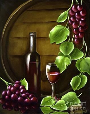 Simple Pleasures Art Print by Susan Murphy