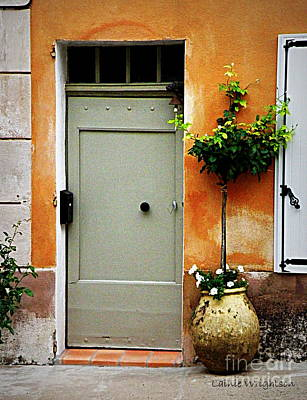 Simple Provence Door Art Print by Lainie Wrightson
