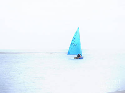Photograph - Simple Sailing by Nina Ficur Feenan