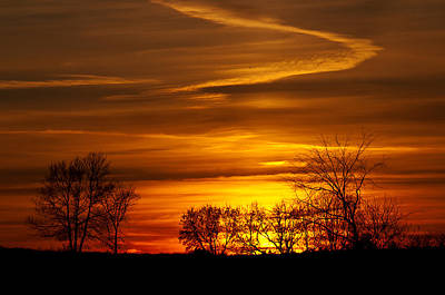 Photograph - Simple Sunset by Celso Bressan