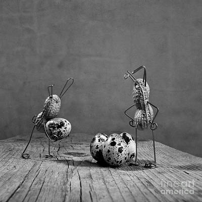 Easter Bunny Photograph - Simple Things Easter by Nailia Schwarz