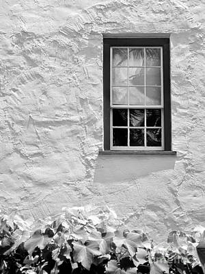 Photograph - Simple Window Mono by Kate McKenna