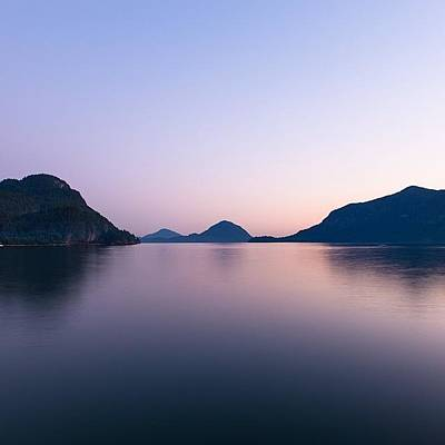 Wallpaper Photograph - Porteau Cove Twilight by Andrew Burgos