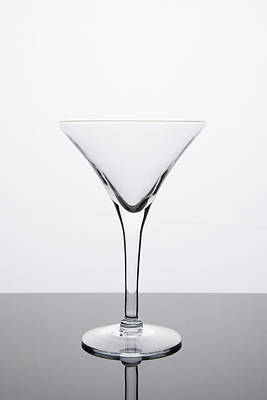 Martini Royalty-Free and Rights-Managed Images - Simplicity - Empty Martini Glass by Erin Cadigan