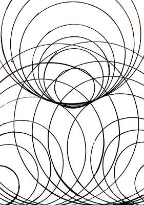 Concentration Digital Art - Simplicity In A Complex Pattern by Rrrose Pix
