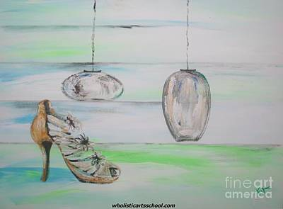 Stillettos Painting - Simplicity by PainterArtist FIN