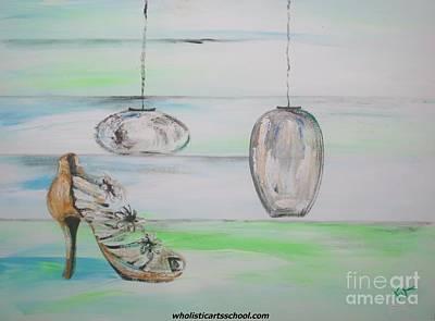 Stillettos Painting - Simplicity by PainterArtist FIN