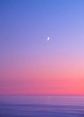 Moonlit Photograph - Simplistic Wonders Of The Earth by Darren  White
