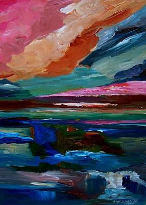 Painting - Simply Abstract by Ray Khalife