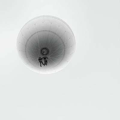 Flying Photograph - Simply Balloon by Marcel Rebro