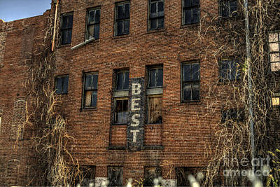 Abandoned Photograph - Simply Best by Hilton Barlow