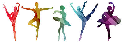 Mixed Media Royalty Free Images - Simply Dancing 3 Royalty-Free Image by Angelina Tamez