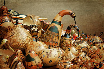 Folk Art Photograph - Simply Gourdgeous by Nikolyn McDonald
