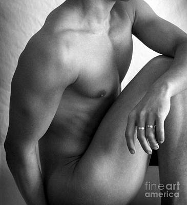 Male Nudes Photograph - Simply by Mark Ashkenazi
