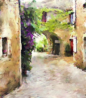 Simply Old Town Art Print